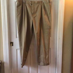 Savane Pleated Pants